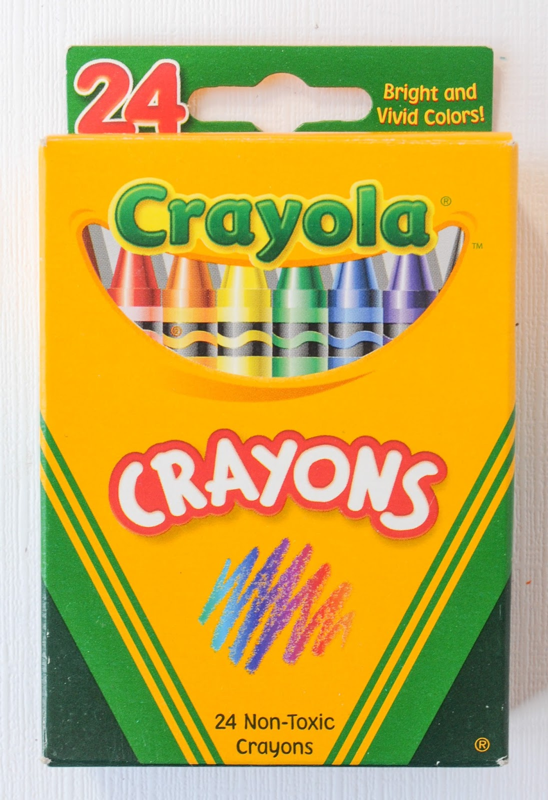 24 Count Crayola Crayons: What\'s Inside the Box   Jenny\'s Crayon ...