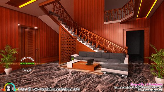 Living room interior 2017