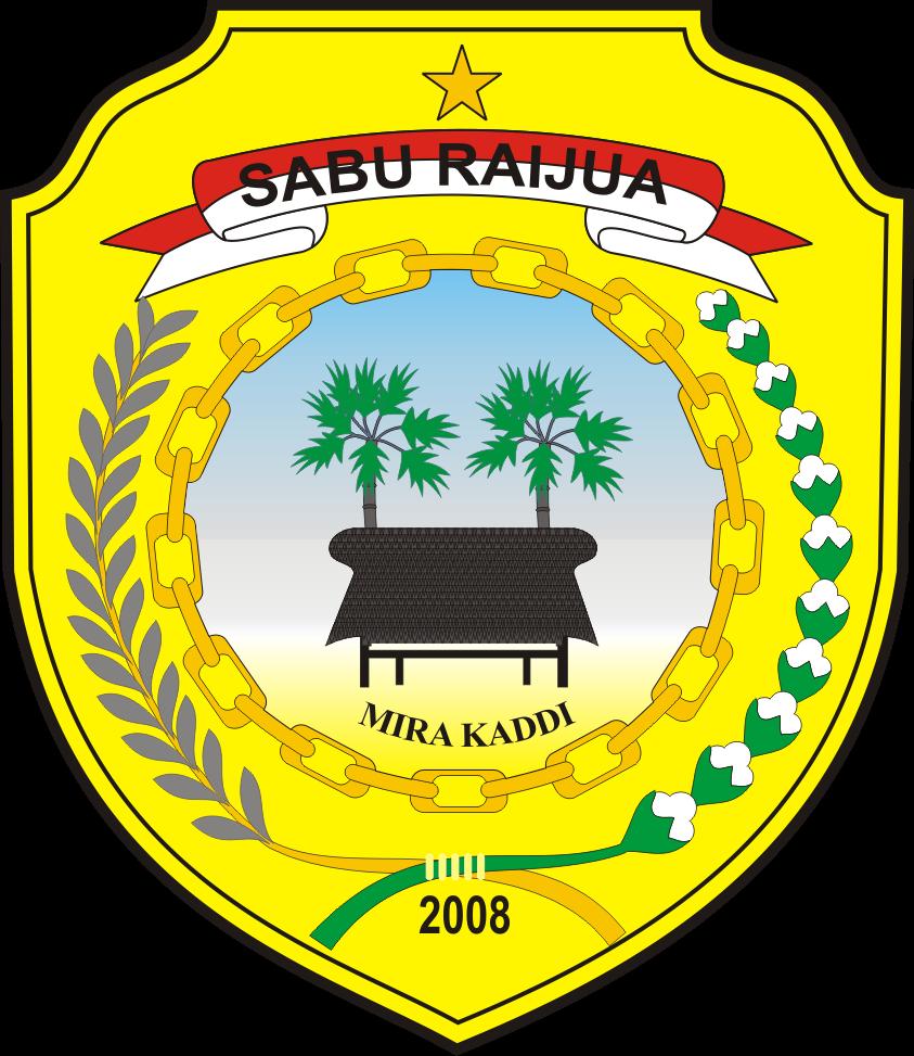 logo kabupaten sabu raijua logo lambang indonesia
