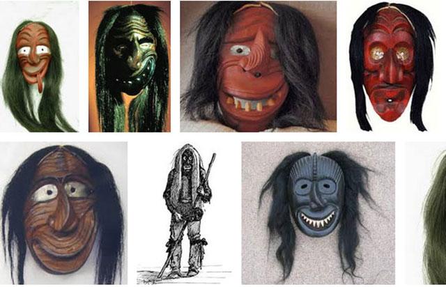 Topeng Suku Iroquois