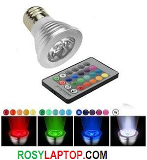 Lampu Led Warna Remote (ganti warna)