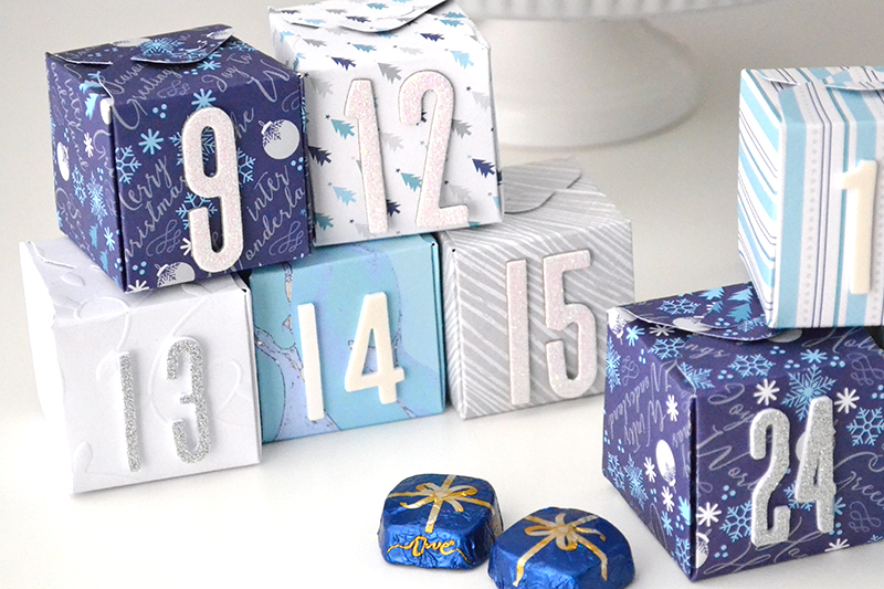 first day of christmas: diy christmas countdown