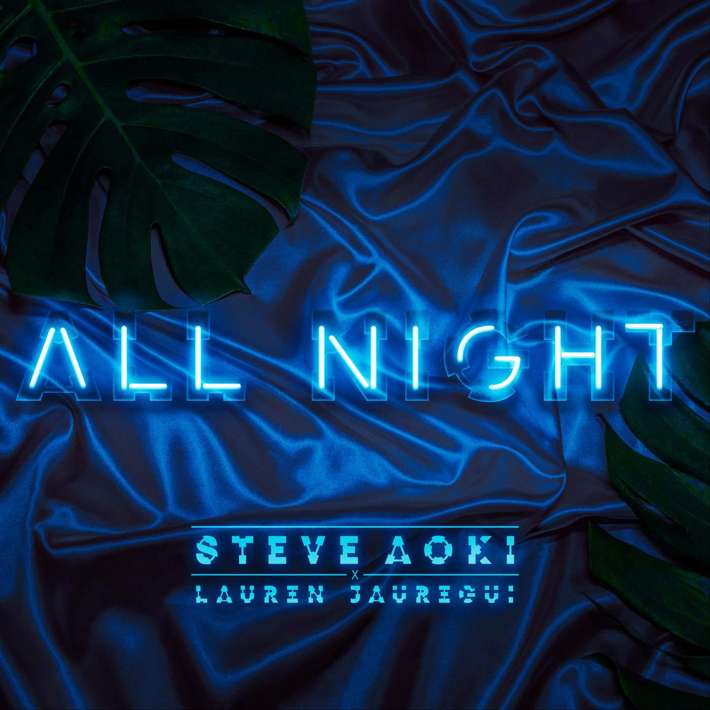 Steve Aoki & Lauren Jauregui - All Night - Single