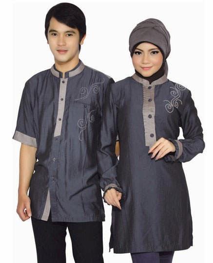 Model+Couple+Busana+Muslim+Lebaran 2014 model baju couple terbaru busana muslim lebaran 2017,Model Baju Muslim Lebaran 2014