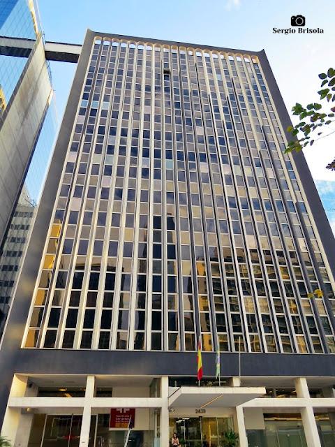 Vista ampla do Edifício Eloy Chaves - Cerqueira César - São Paulo