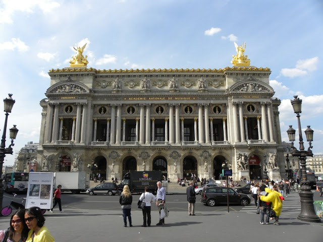 The Paris Opera or Le Palais Garnier