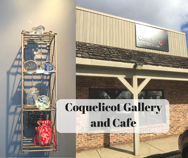 Coquelicot Gallery and Cafe in Palatine, Illinois