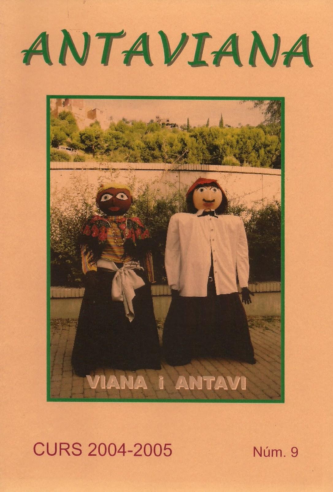 http://issuu.com/blocsdantaviana/docs/revista_antaviana_n___9__2004-2005_