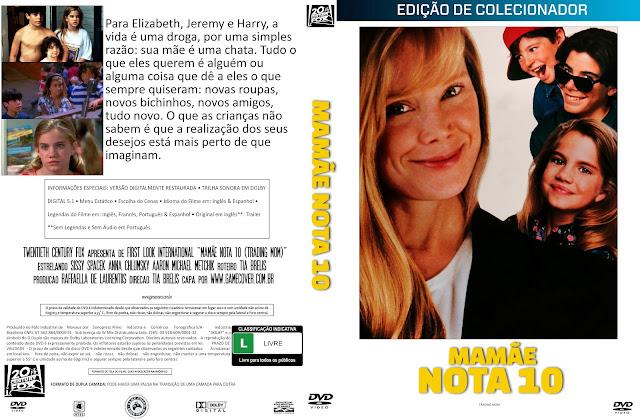 Capa DVD Mamãe Nota 10 [Coleção]