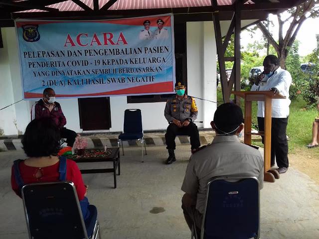 Johny Kamuru Ungkap 1 Pasien dari Salawati Dinyatakan Sembuh Covid-19