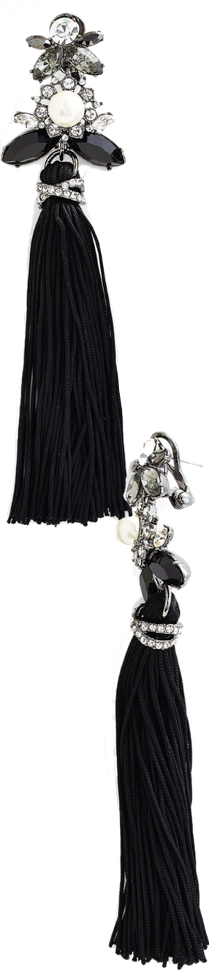 Marchesa 'Dahlia' Tassel Drop Earrings