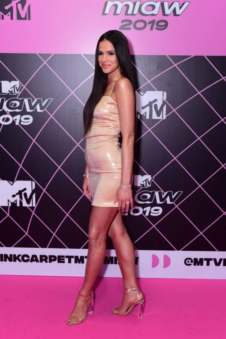 Bruna Marquezine At MIAW MTV 2019 Awards in Sao Paulo