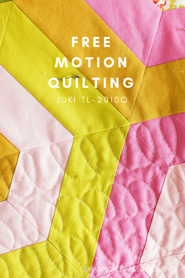 Modern Quilter's Review Juki TL-2010Q | Shannon Fraser Designs | Hexie Stripe | Suzy Quilts Pattern |