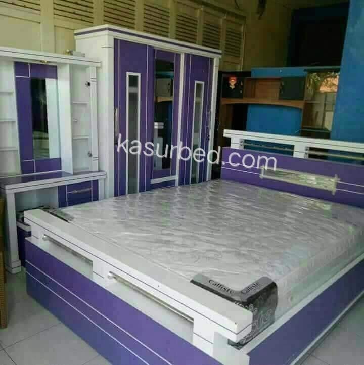 Harga Kamar Set Tempat Tidur Lemari Meja Rias