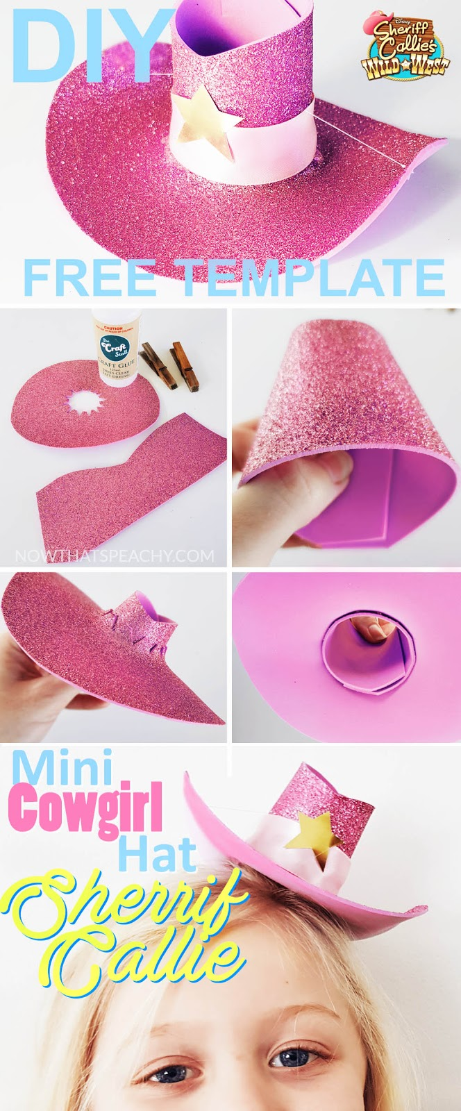 How to make a Mini Cowgirl   Cowboy Hat DIY  24469c76654a