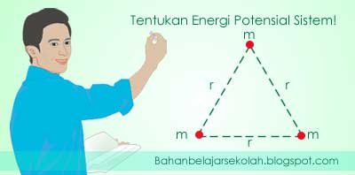 Energi potensial gravitasi sistem