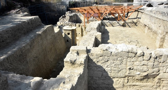Two-storey Byzantine structure discovered in ancient city of Myra