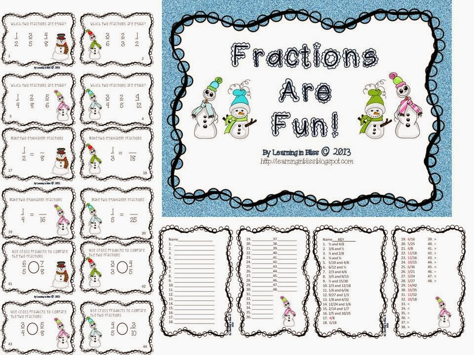 http://www.teacherspayteachers.com/Product/Equivalent-Fractions-are-Fun-496944