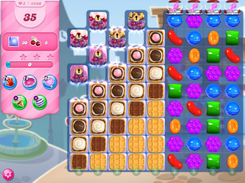 Candy Crush Saga level 4560