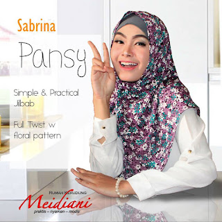 Jilbab sehari-hari Sabrina Pansy