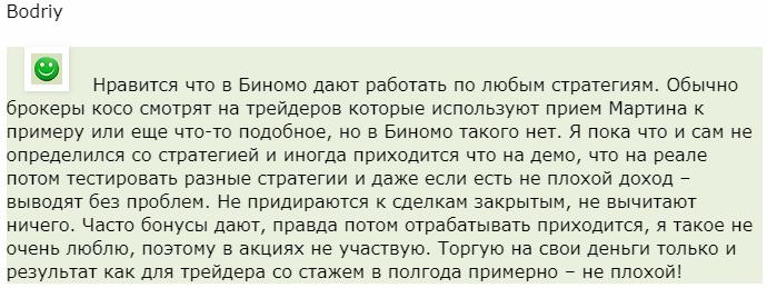 Binomo отзыв Bodriy