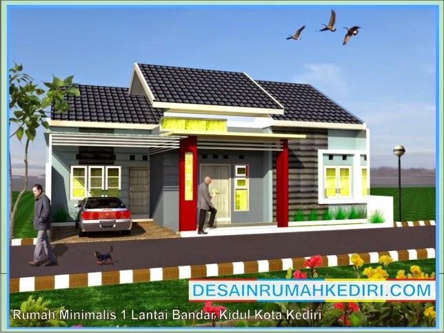 Lt1 04 Rumah Minimalis 1 Lantai Bandar Kidul Kota Kediri Jasa Desain Rumah Terpercaya