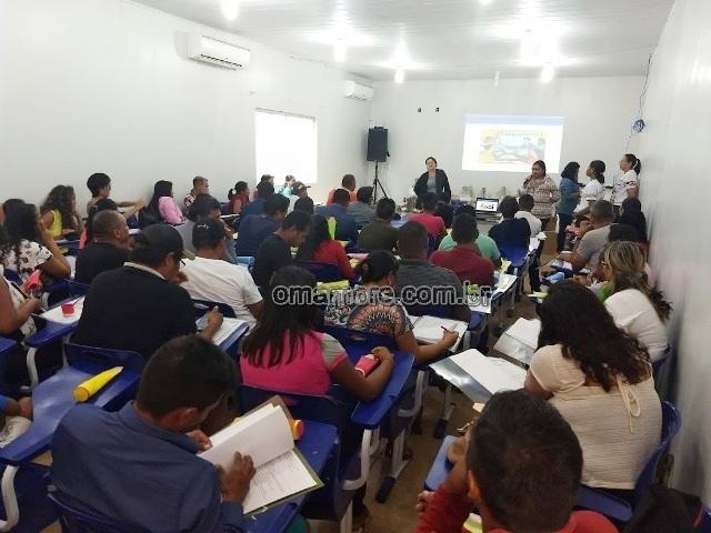 Núcleo de Educação Escolar de Indígena realiza encontro pedagógico em Guajará-Mirim