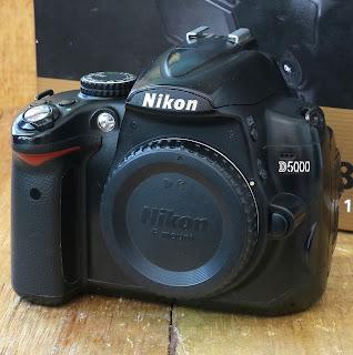 Kamera Nikon D5000 ( BO ) Fullset