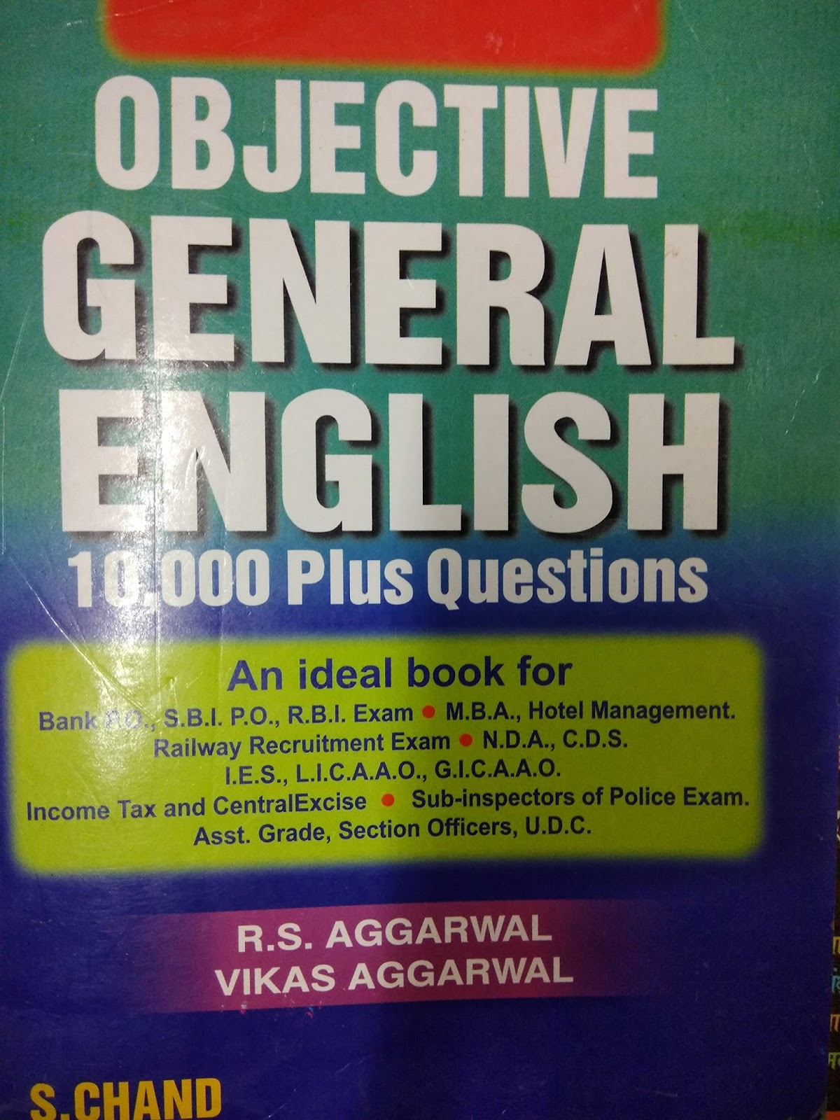 Objective General English Paperback By Sp Bakshi Pdf