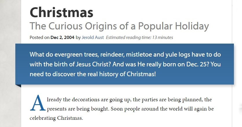 Should Christians Celebrate Christmas.Parablesblog Should Christians Celebrate Christmas Part 2