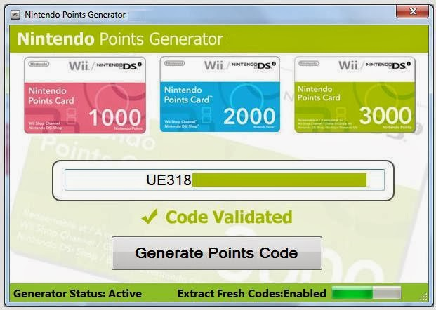 Free wii points code generator v3 0 download 1