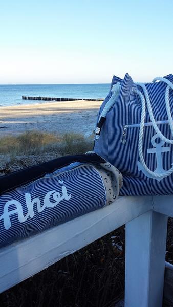Strandtasche abgewandelt, Carrie von paddydoo