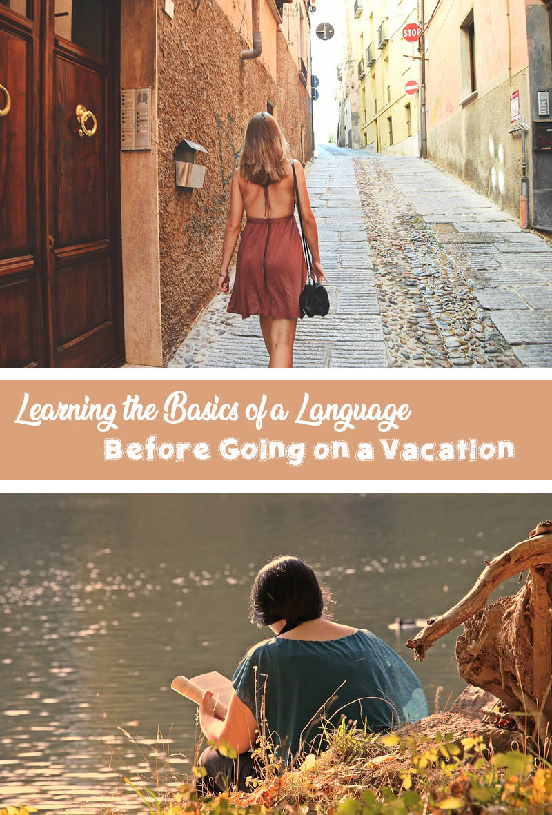 Learning the basics of a language before going on a vacation is essential not only to help you immerse in the country's culture, but also to help you get past sticky situations in a place where English may not be the first language.