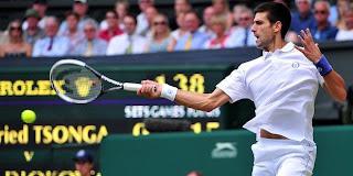 Novak Djokovic melangkah ke final Wimbledon