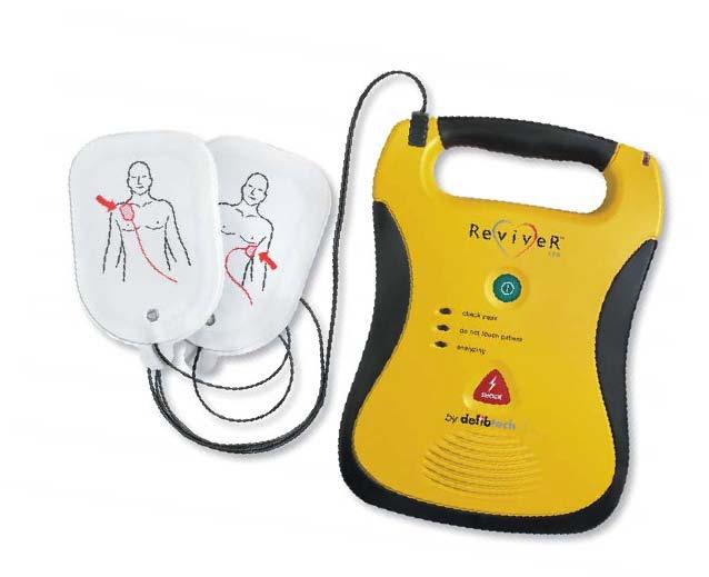 cardiac arrest shock machine
