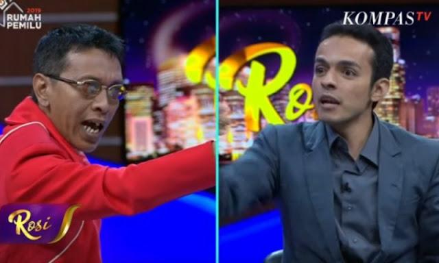 Gamal Albinsaid Bungkam Adian Napitupulu Soal Tudingan Prabowo-Sandi Feodal