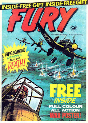 Marvel UK, Fury #3
