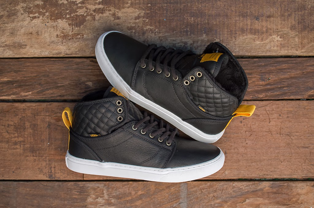 """46fcdb4ec0285 The Vans OTW collection introduces a seasonally apropos edition of its  Alomar with a new """"all-weather"""" take on the high-top."""