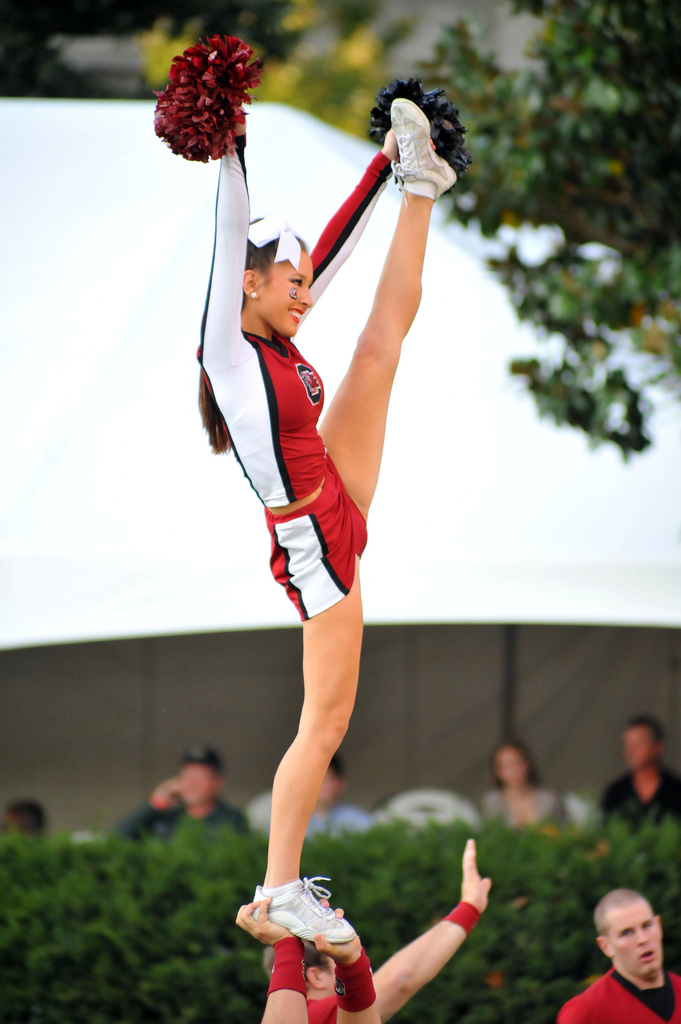 Very Cute South Carolina Cheerleader « Cheerleader Heaven