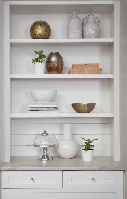 Shelf Styling Tips by Patti Borrelli, BeSoStyle blog