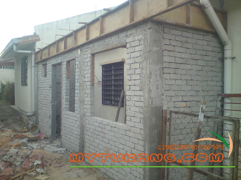 Kos Ubahsuai Rumah 1 Tingkat Budi Renovation Berpengalaman Bina Dan