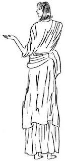 Himation yaitu bentuk busana bungkus yang biasa di pakai oleh ahli filosof atau orang terkemuka di Yunani Kuno