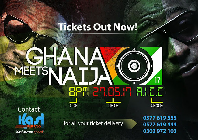 2017 Ghana Meets Naija Tickets Out Today