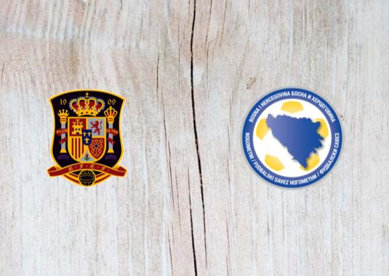 Spain vs Bosnia and Herzegovina Full Match & Highlights 18 November 2018