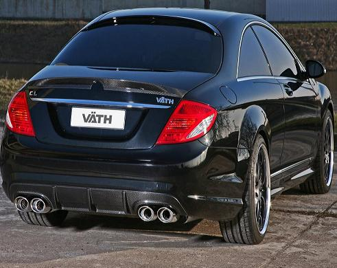 german tuner vath unveiled mercedes benz cl 500 car audio. Black Bedroom Furniture Sets. Home Design Ideas