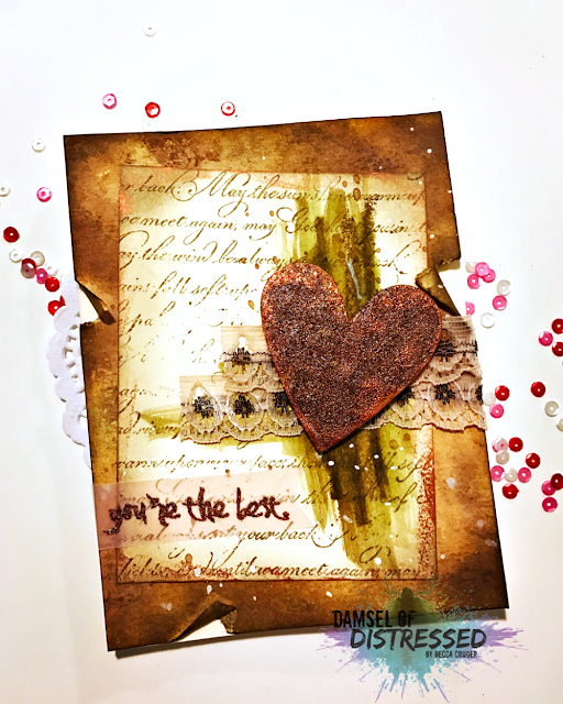 valentines_day_vintage_stamped_card_with_tim_holtz_distress_inks
