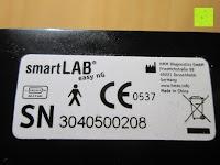 Sicherheit: smartLAB easy nG Handgelenk-Blutdruckmessgerät