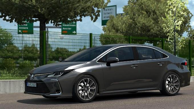 ETS 2 - Toyota Corolla 2020 V1R40 Modu (1.38)