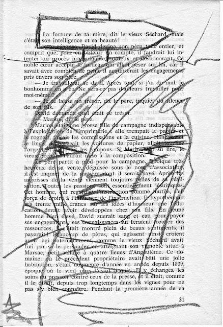 """""""des Illusions"""" série DESSINS par AZa ... *) alias AGNESetlesNUAGES"""