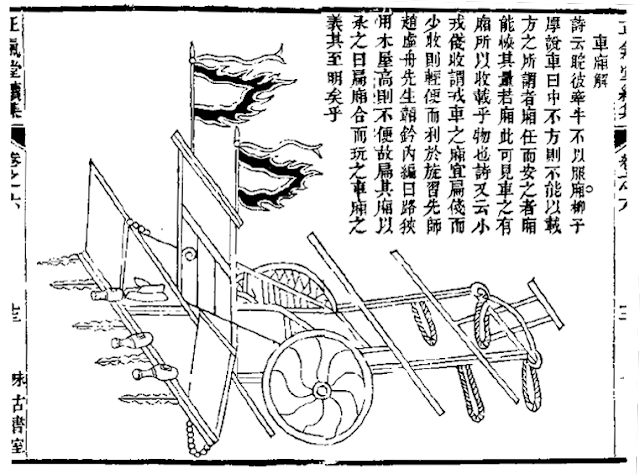 Ming Chinese Imperial Guard War Cart
